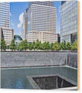 911 Memorial - Panorama Wood Print