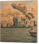 9112001 Wood Print