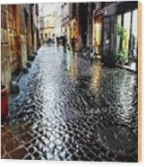 winter in Rome Wood Print