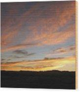 92615 Sunset Wood Print