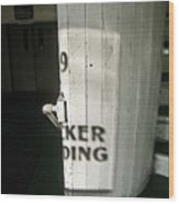 99 The Picker Building Wood Print
