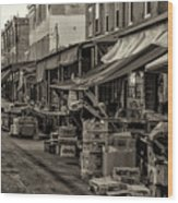 9th Street Italian Market - Philadelphia Pennsylvania Wood Print