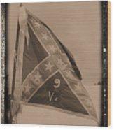 9th Virginia Wood Print