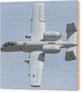 A-10 Thunderbolt II Wood Print