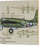 A-20 Havoc - Irene Wood Print