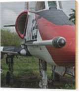 A - 4 Skyhawk - 3 Wood Print