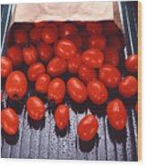 A Bag Of Tomatoes Wood Print