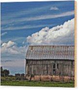 A Barn Wood Print