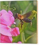 A Bee I Cee Wood Print
