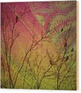 A Bird's Dream Of Summer Wood Print