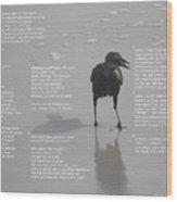 A Bird's Eye View--point Wood Print