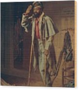 A Bit Of War History Wood Print