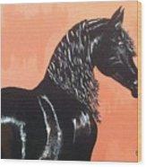 A Black Tie Affair Wood Print