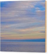 A Blue-tiful Day On Lake Superior Wood Print