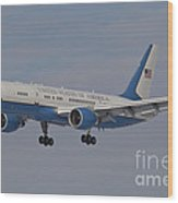 A Boeing C-32a Of The 89th Airlift Wing Wood Print