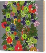 A Bouquet Wood Print