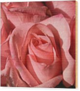 A Bouquet Of Roses Wood Print