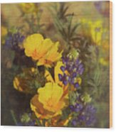 A Bouquet Of Spring  Wood Print