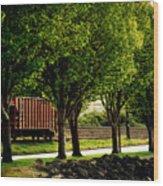 A Boxcar Story Wood Print