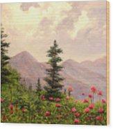 A Breath Of Fresh Country Air Wood Print