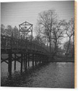 Homage To Spring Lake Wood Print