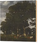 A Bright Day 1840 Wood Print