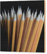 A Bunch Of Pencils Wood Print