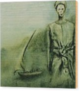 A Bunyakyusa Woman Wood Print