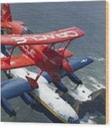 A C-130 Hercules Fat Albert Aircraft Wood Print