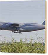 A C-5a Galaxy Of The U.s. Air Force Wood Print