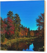 A Calm Fall Day On The Upper Moose Wood Print