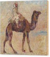 A Camel Wood Print
