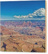 A Canyon Grand Wood Print