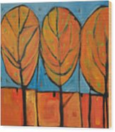A Change Of Seasons Wood Print