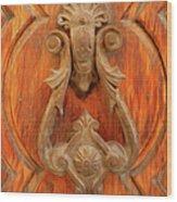 A Charming Entrance Wood Print