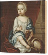 A Child Of The Pierpont Family Wood Print