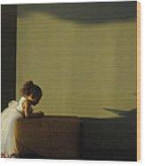 A Child's Prayer Wood Print
