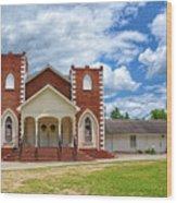 A Church In Sc Wood Print