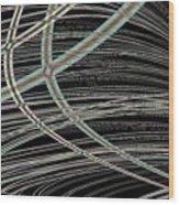 A Clean Sweep Wood Print