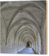 A Cloister Gallery Wood Print
