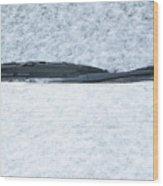 A Cold Start Wood Print