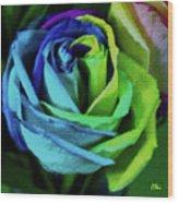 A Color Celebration Wood Print