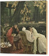 A Convalescent Wood Print by James Jacques Joseph Tissot
