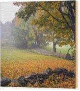 A Corner Of Paradise  Wood Print