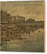 A Cote De La Mer Wood Print