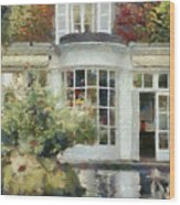 A Cozy House In Brittany Wood Print