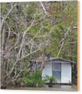 A Cozy Spot On The Apalachicola River Wood Print