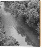 A Creek Runs Through It -- 2 Wood Print