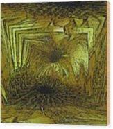 A Daisy Dilemma Wood Print