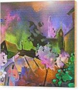 A Daisy For Mary Wood Print